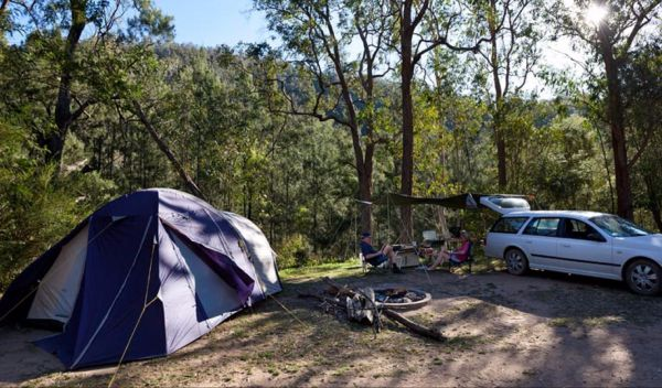 Deua River campgrounds